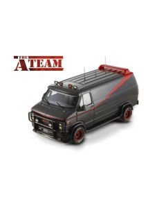 The A TEAM Van GMC Vandura 1983