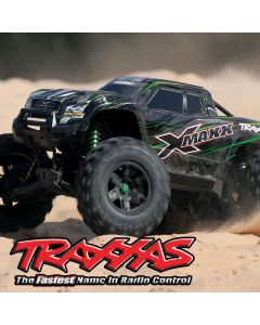 XMAXX Traxxas 8S - Radio TQi - Télémétrie TSM iD 77086