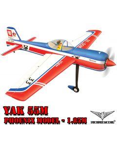 Yak 55m Phoenix Model 1.85m - Avion de voltige