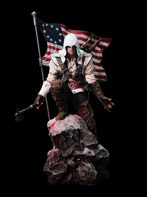 Statuette Assassin's Creed III Connor Rise - 300058882 ...