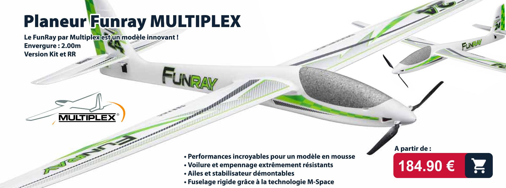 planeur funray multiplex