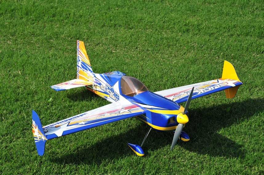 """avion électrique en modèle réduit : Slick 580 ARF 44"""" extreme Flight 3D Hobby Shop"""